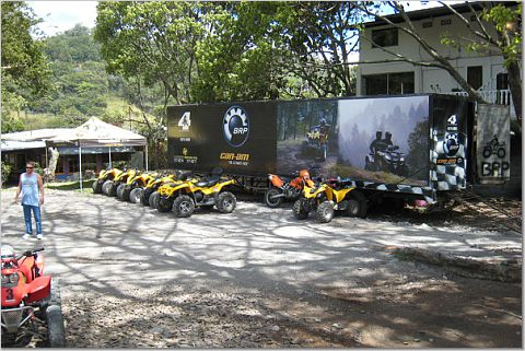 ATV Riding in the Boquete Mountains